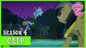 Rainbow Fails on Helping Daring Do (Daring Don't) MLP FiM HD
