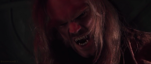 Sabretooth snarls