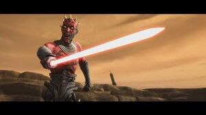 Star Wars The Clone Wars - Obi Wan & Adi Gallia vs