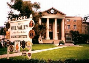 The Hill Valley Courthouse Square