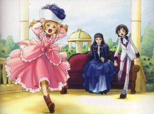CODE.GEASS Nunnally, Lelouch and Marianne