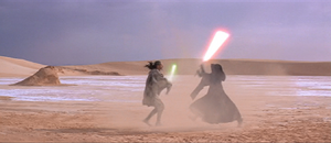 Darth Maul desert duel