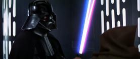 Darth Vader enthralls