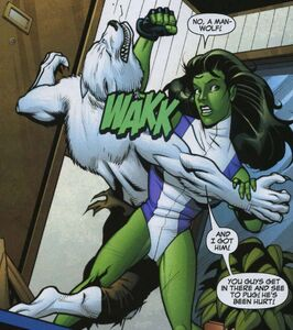 Man-Wolf and She-Hulk 2