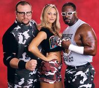 WWE Stacy Keibler Dudley Boyz