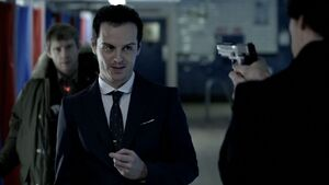 Moriarty gunpoint