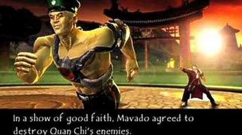Mortal Kombat Deadly Alliance Hsu Hao's Ending