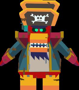 Rockhopper Bot corrupted sprite