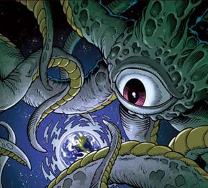 Shuma-Gorath (Marvel VS System Trading Card)