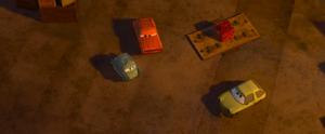 Cars 2 proffesor z grem acer