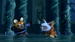 Kung Fu Panda Legends of Awesomeness Junjie vs Shifu