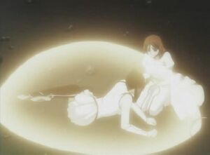 Orihime heals Loly