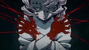 Rui using his Blood Demon Art