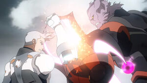Shiro and Sendak's final battle