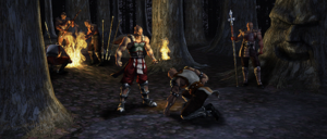 Baraka and his Tarkatan army in his Deception ending.