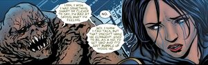 Basil Karlo and Cassandra Cain Prime Earth 0002