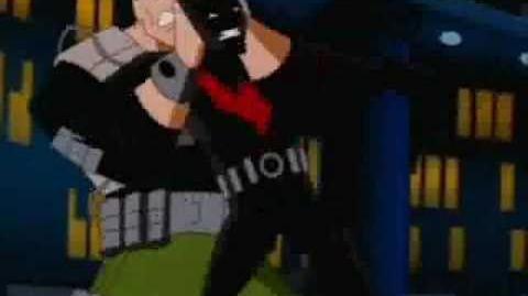 Batman Fighting Mad Stan