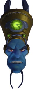 Crash Bandicoot N. Sane Trilogy Doctor Nefarious Tropy Head in Vortex