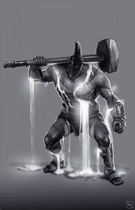 Elemental Talos Juggernaut concept