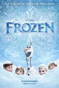 Frozen Promo Poster