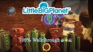 LittleBIGPlanet (720p HD) Walkthrough Part 40 - Boom Town - Initial & Aced