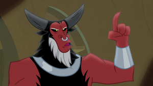 Lord Tirek singing 'I don't need' S9E8