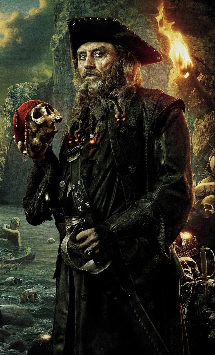 Blackbeard (Pirates of...