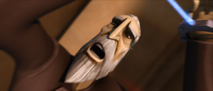 Count Dooku fright