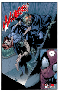 Norman Osborn (Earth-1610) Captures Mary Jane Watson (Earth 1610) from Ultimate Spider Man Vol 1 24