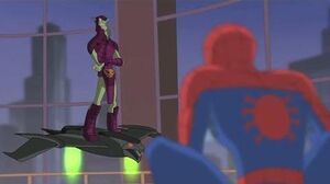 Spectacular Spider-Man (2008) Spider-Man vs Green Goblin part 1 3