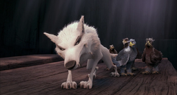White Wolf's Grin