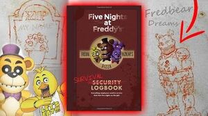 HUGE LORE In The Five Nights at Freddy's Survival Logbook