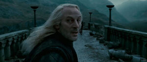 Lucius Malfoy in the Battle