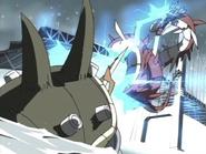 MegaSeadramon's & Zudomon's Battle