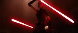 Ventress Kenobi readying