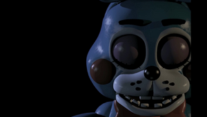 Bonnie 2 0 close-up eyes shut FNaF 2