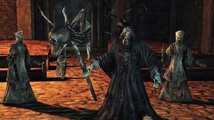 Dark Souls 2 Prowling Magus Boss Fight (4K 60fps)