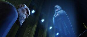 Darth Sidious holographic