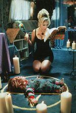 Tiffany's voodoo ritual