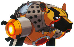 X7 flame hyena