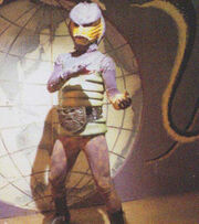 Cobra Man Shocker Kaijin