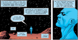 Doctor Manhattan thinking