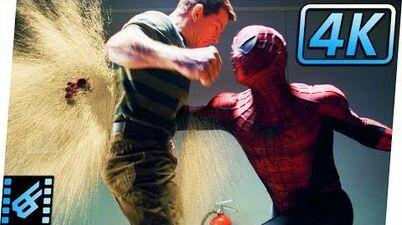Spider-Man vs Sandman First Fight Spider-Man 3 (2007) Movie Clip