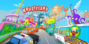 The Krustyland Theme Park