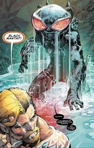 Black Manta in Justice League Aquaman Drowned Earth
