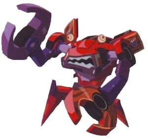 Clampdown (Crab-like Decepticon)