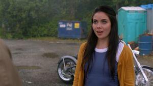 Grace Phipps as Hael in Supernatural