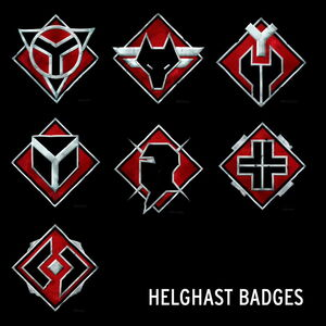 Helghast badges by helghastassassin111