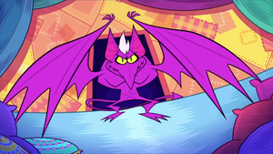 Scary Teri as a Pterodactyl