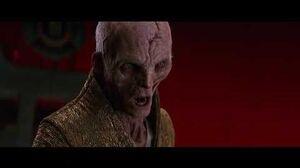 Star Wars The Last Jedi Kylo Ren Meets With Supreme Leader Snoke 4K